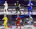 DOA6 Hyakujuu Sentai Gaoranger mod pack