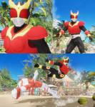 Dead or Alive 6 Jann Lee as Kamen Rider Kuuga