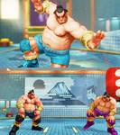 SFVAE mod Honda the wrestler