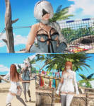 Dead or Alive 6  mod 2B(Kaine edition) pack