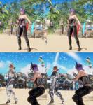 DOA6 mod Ayane and Kasumi Transformation mod pack