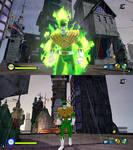 NTBSS Rock Lee as Green Ranger by monkeygigabuster