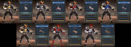 GBFV Kamen Rider Agito pack for Soriz by monkeygigabuster