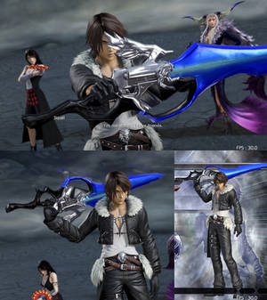 DFFNT mod Lion Heart for Squall