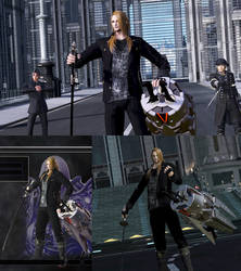 DFFNT mod FFXV Cor Leonis outfit for Zenos