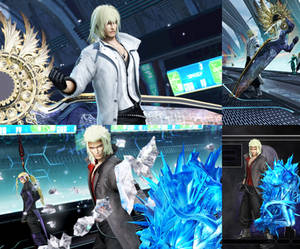 DFFNT mod Update for  FFXIII-2 outfit for Snow