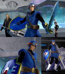 DFFNT mod Dragon Quest 2 outfit for Kam'lanaut