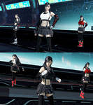 DFFNT final update for FFVII Remake Tifa outfit
