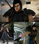 Tekken 7 mod FFVIIR Zack Fair outfit for Claudio