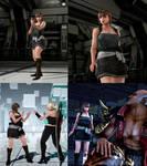 Tekken 7 mod RE3 Jill Valentine outfit for Anna
