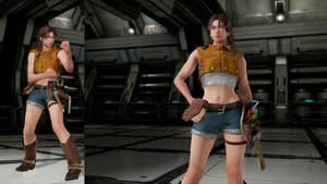 Tekken 7 mod DMC5 Nico outfit for Julia Chang