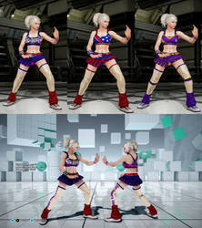 Update for Juliet Starling outfit for Lidia