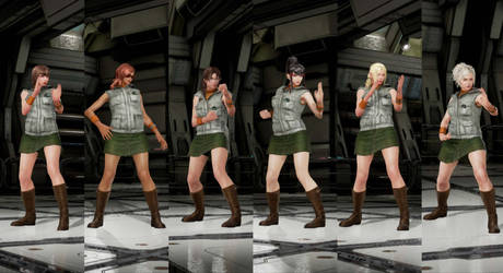 SH3 Heather outfit for more characters by monkeygigabuster