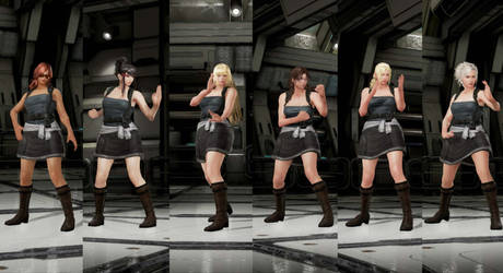 RE3 Jill outfit for more characters by monkeygigabuster
