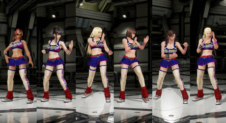 Juliet Starling  outfit for more characters by monkeygigabuster