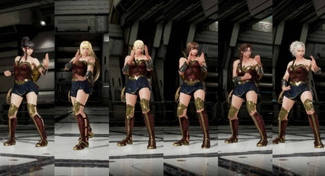 Wonder Woman  outfit for more characters by monkeygigabuster