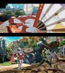 Guilty Gear Strive mod Ultraman for Anji Mito by monkeygigabuster