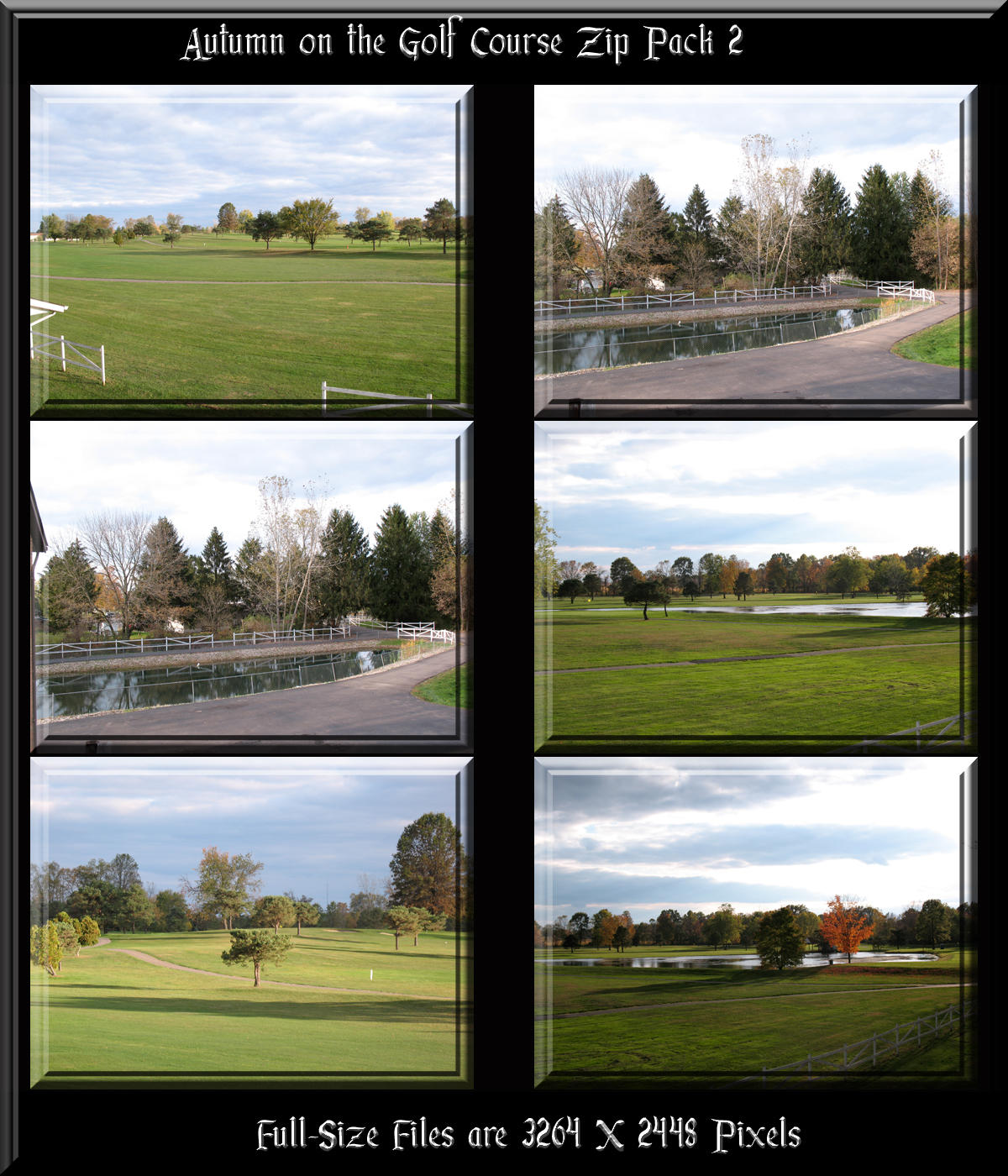 Autumn on the GC Zip Pack 2 by WDWParksGal-Stock