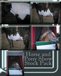 Horse and Pony Show Zip Pack