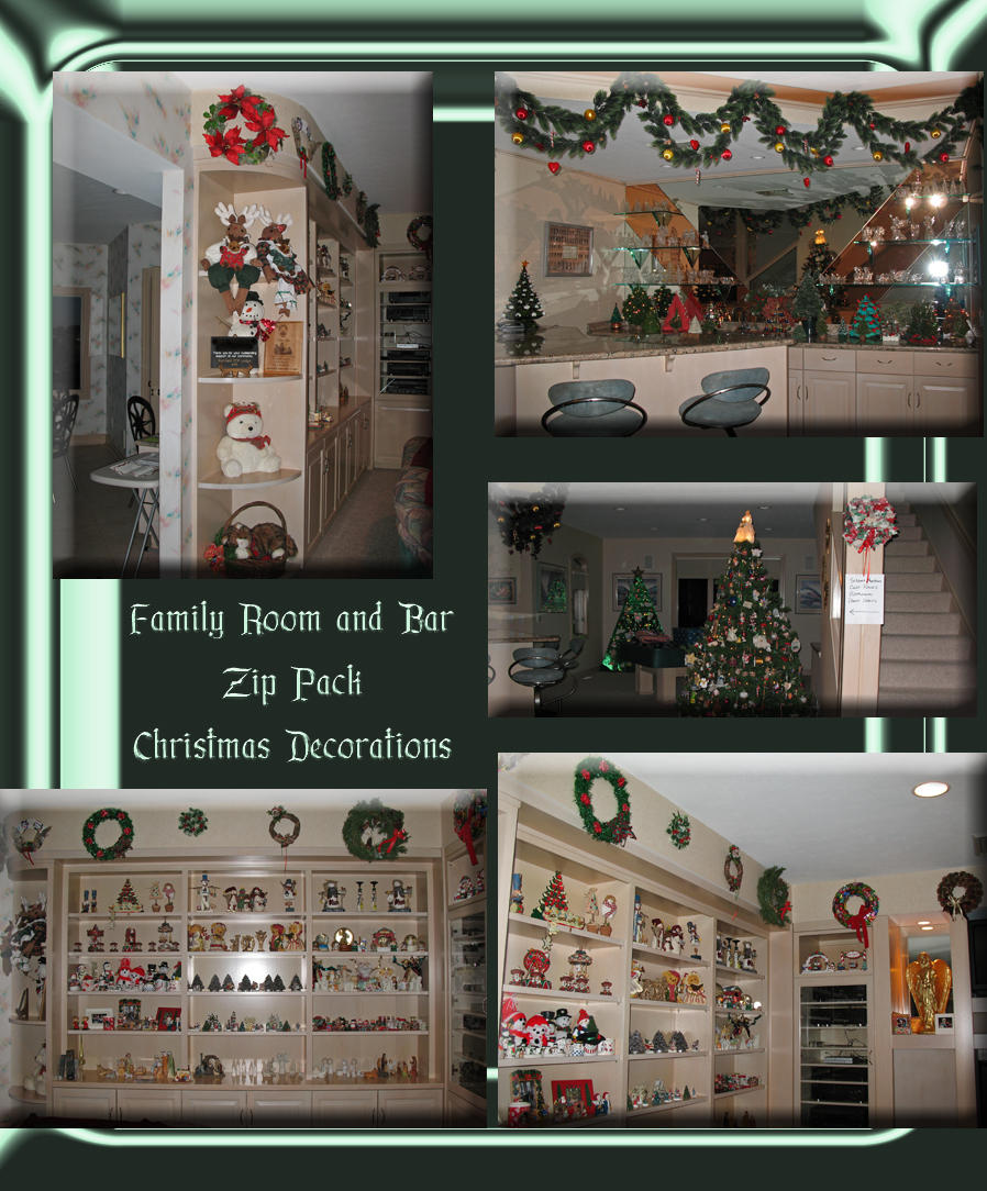 Decorations in a Mansion Zip 4 by WDWParksGal-Stock