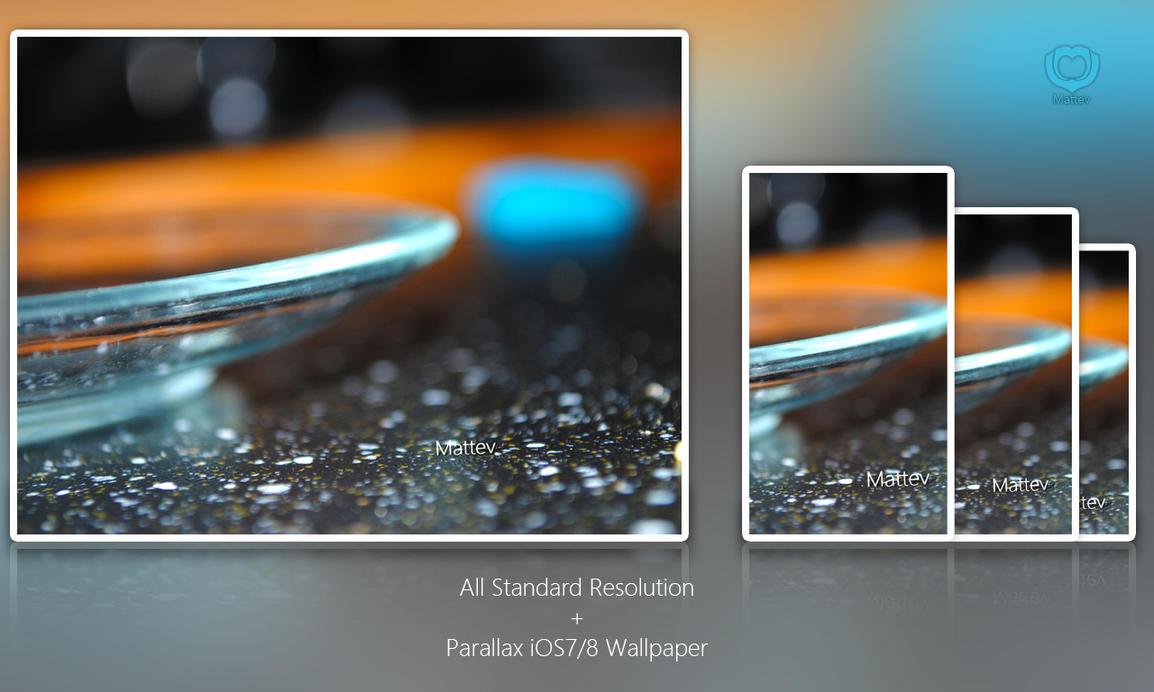 Glass Saucher - Wallpaper Set by Mattev
