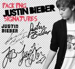 Justin Bieber signatures png