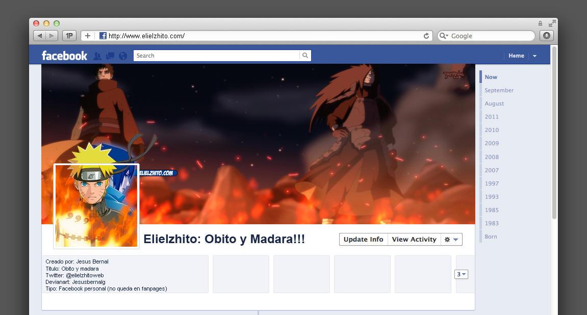 Timeline Obito y Madara by jesusbernalg on deviantART ...