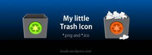My Little Trash Icon