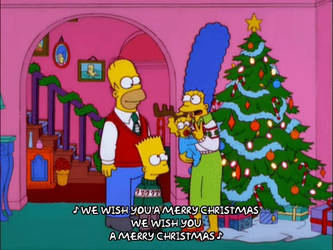 Simpsons Christmas