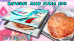 Hatsune Miku Pizza Box XNA/XPS by Zellphie