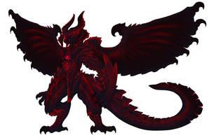 Apocalythius the Apocalypse Dragon by dabigboss888