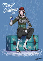 A beer for christmas by dabigboss888