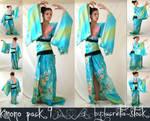 kimono stock pack 009 by lucretia-stock