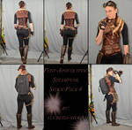 Post Apocalyptic Steampunk Stock Pack 4 by lucretia-stock