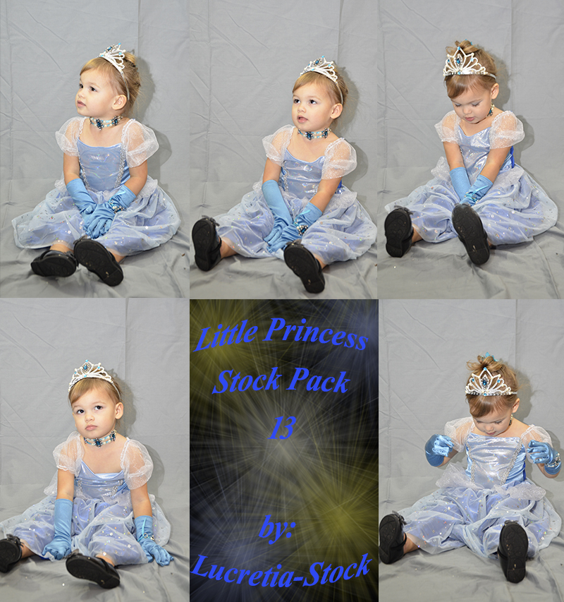 Little Princess Stock Pack 13 by lucretia-stock