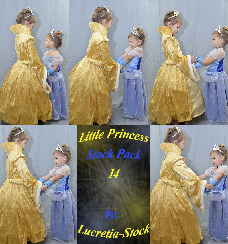 Little Princess Stock Pack 14 by lucretia-stock