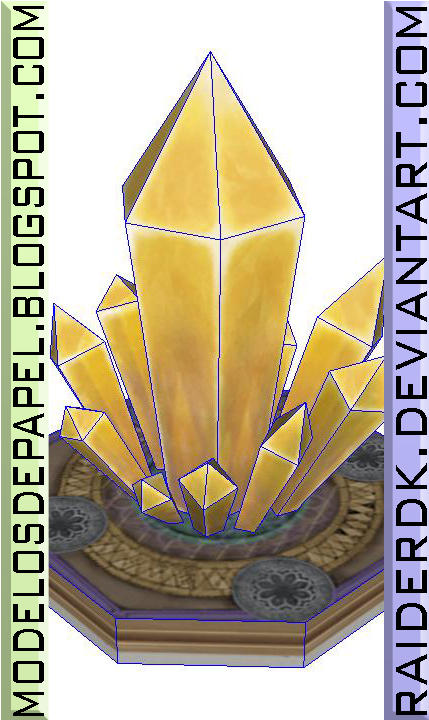 RO Emperium Papercraft Pattern by RaiderDK
