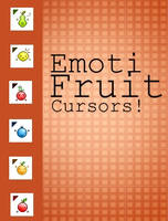 Emoti Fruit Cursors by CaitxxSith