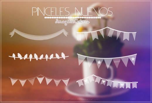 { Pinceles Nuevos } by. ImagineColors.