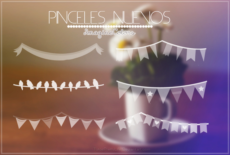 { Pinceles Nuevos } by. ImagineColors. by TutosPrettyLife