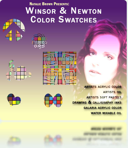 Winsor-Newton Color Swatches by rnbluvva