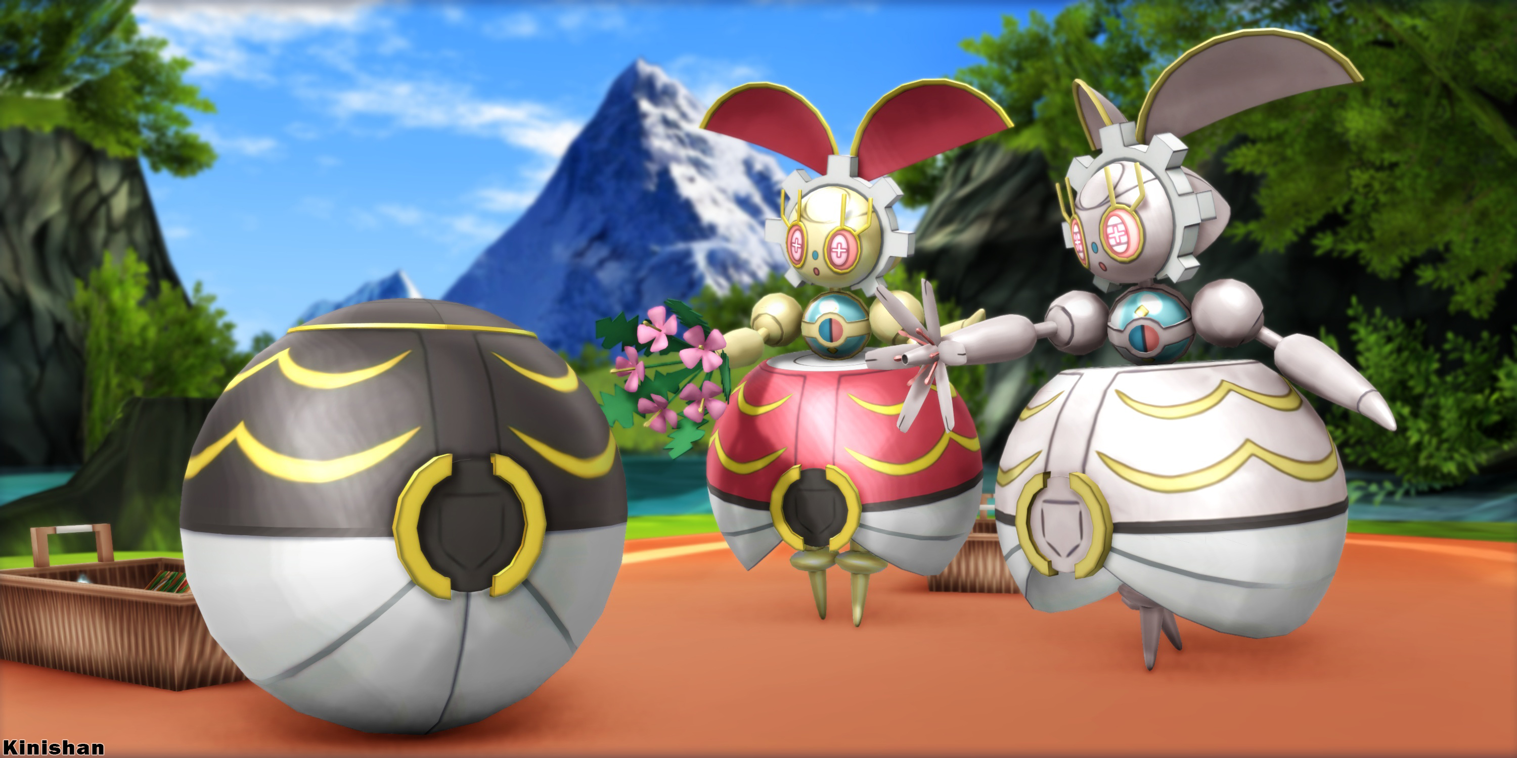 [MMD Pokemon] Download- Magearna