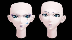[MMD] Download- Vale's face by Kinishan