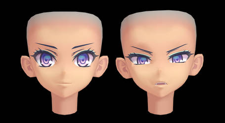 [MMD] Download- Praxis's face by Kinishan