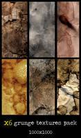 x6 grunge textures