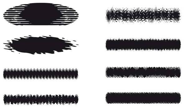 Rough Brushes 5