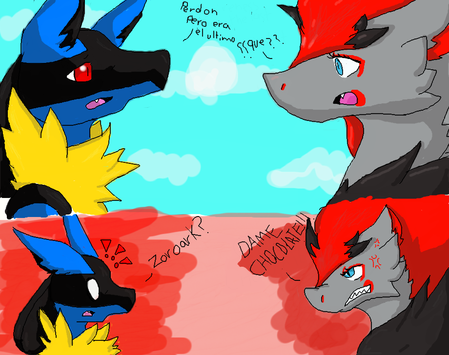 Zoroark And Lucario Mating | www.pixshark.com - Images ...