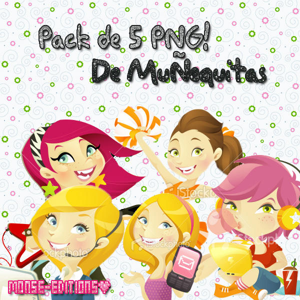 Munequitas PNG by Monse-Editions