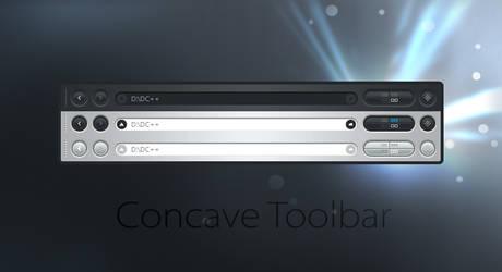 Concave Toolbar by alperyesiltas