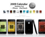 2009 Calendar + Wallpaper Pack